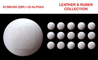 Leather and Ruber Brush Collection