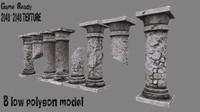 3d model pillar 2