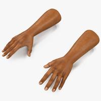 c4d african man hands 2