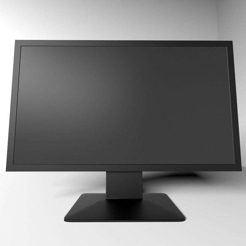 display hd screen 3d model