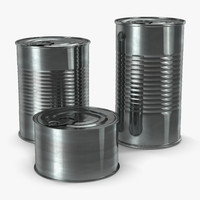 Tin Cans Set