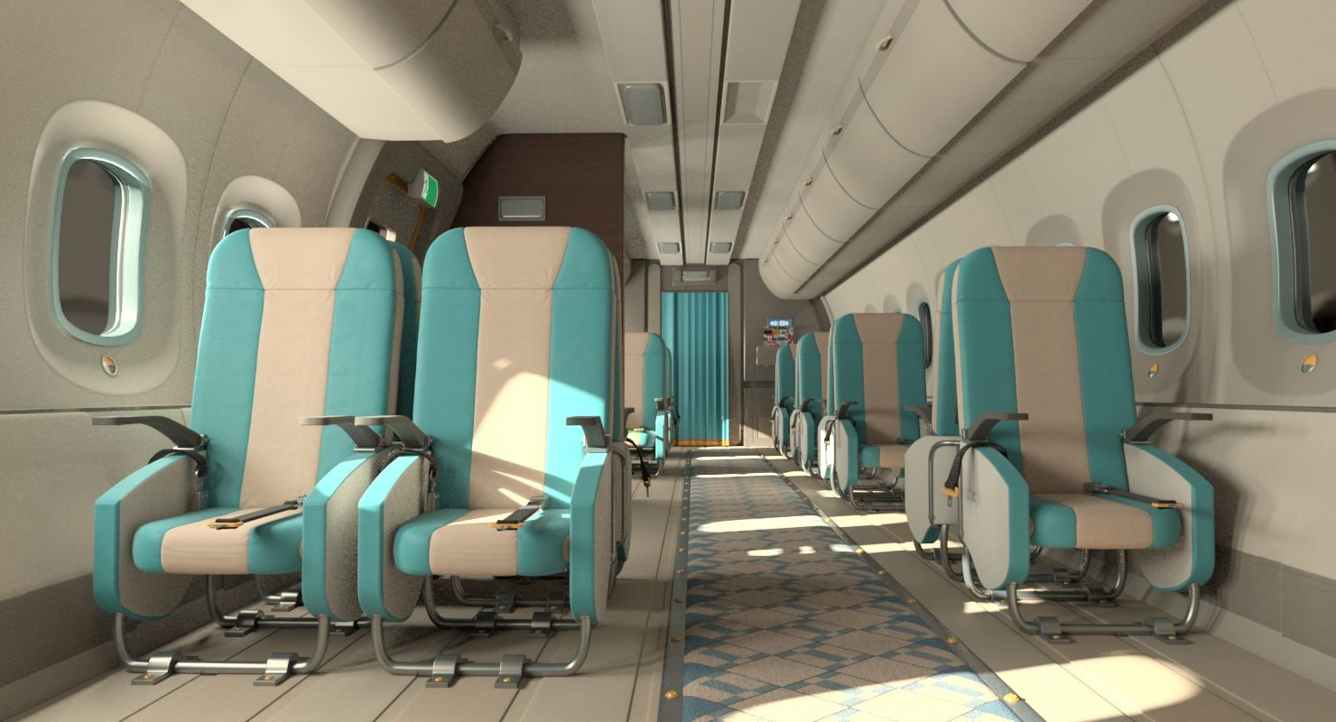 obj small jet interior