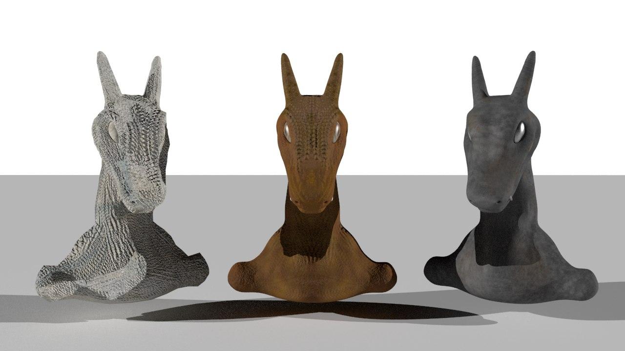 3d obj charizard sculpture