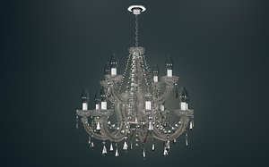 3d marie therese chandelier model