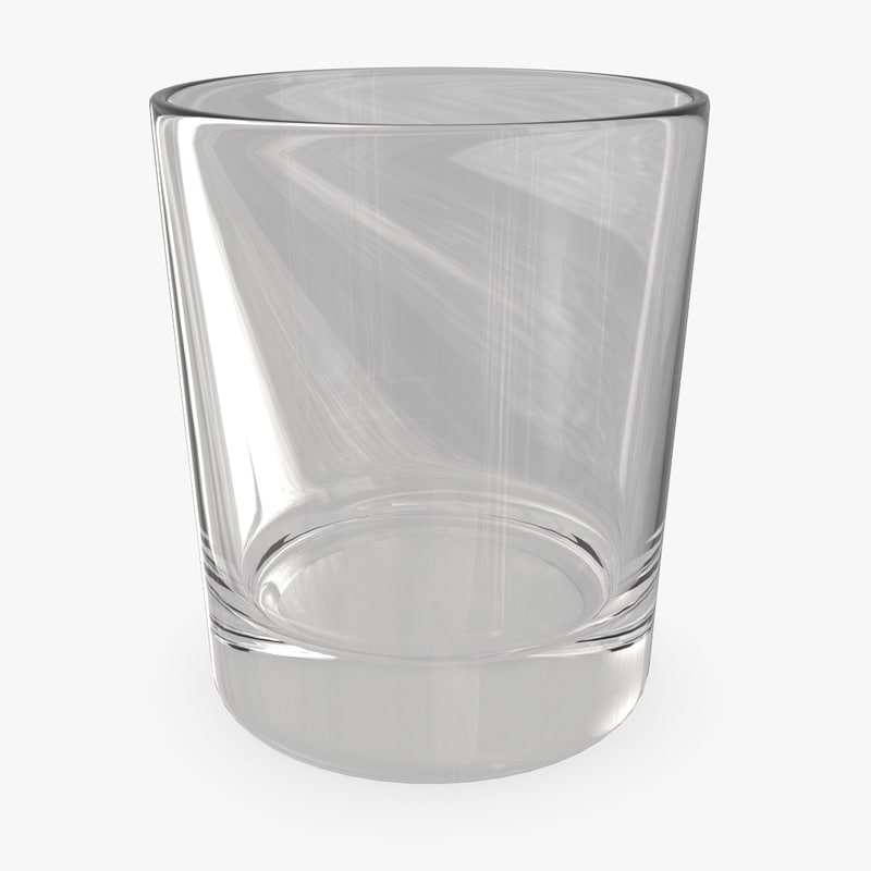 3d whiskey glass 03 model