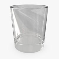 3d whiskey glass 03 model