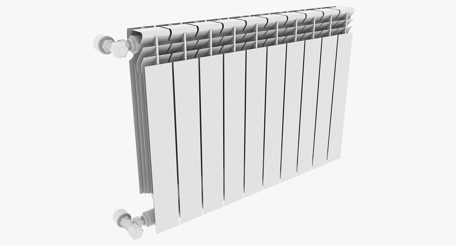 3d radiator aluminum