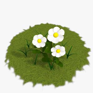 daisy cartoon plants max