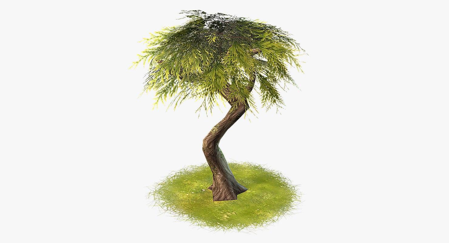 cartoon tree 03 max