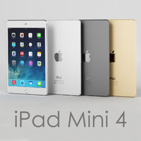 3d model tablet apple ipad mini