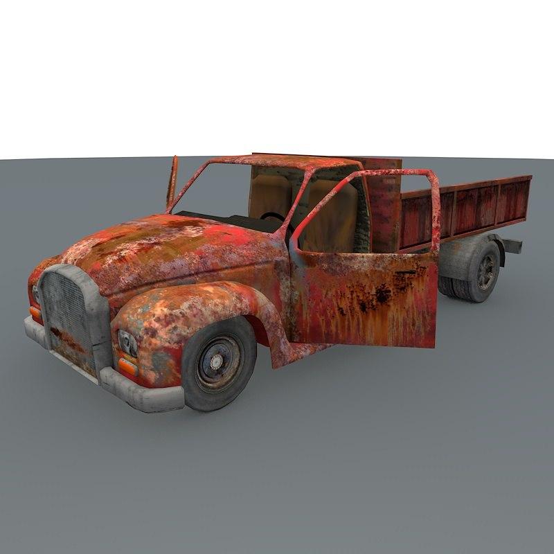 3d pickup games ready model