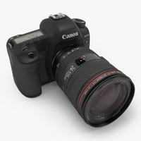 3d canon 5d mark ii model