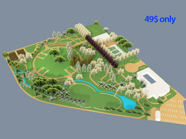 forest park ready 3d model