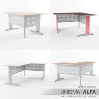 office desks unisma alfa max