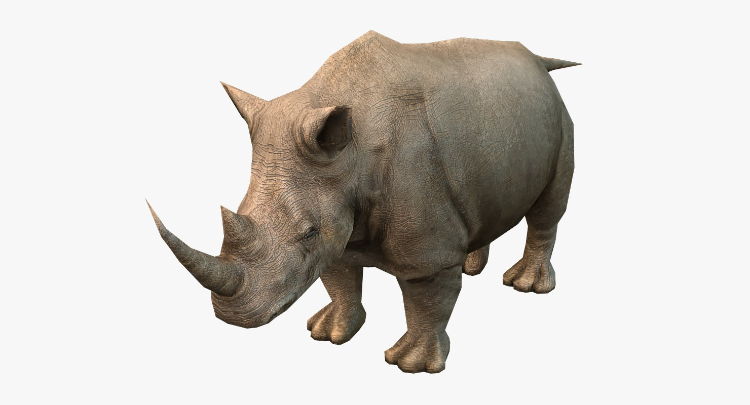 realistic rhino 3d model