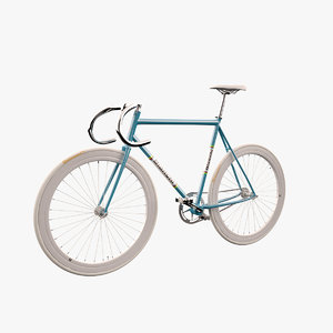 photorealistic bianchi bicycle 3d model