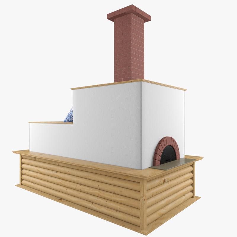 3d oven russian model