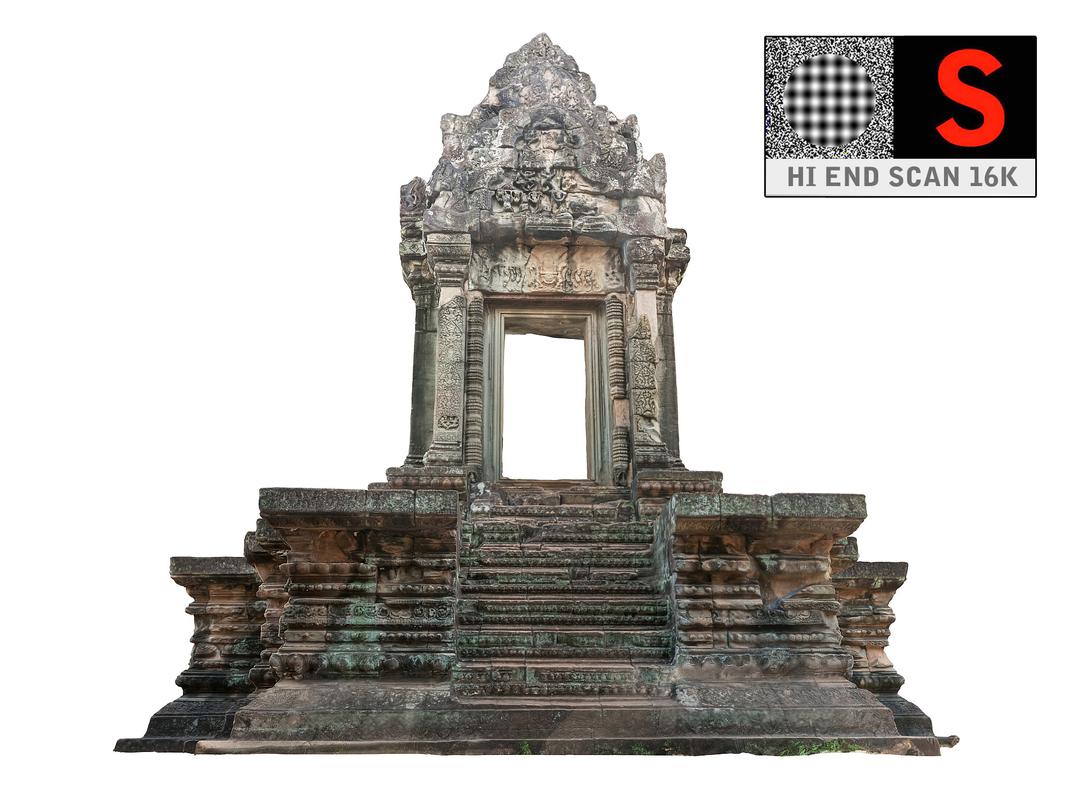 3d lost temples 16k model