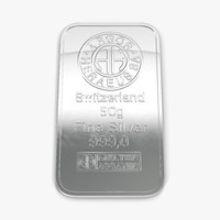 3d x silver bar 50g