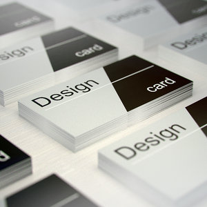 business cards 3d max