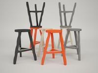 3d stool offcut