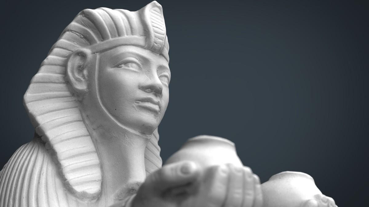egypt sphinx 3d max