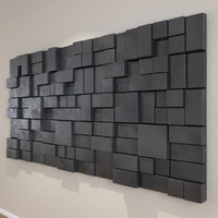 Ultra Modern Wall Art Blocks