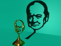 3d max churchill trophy