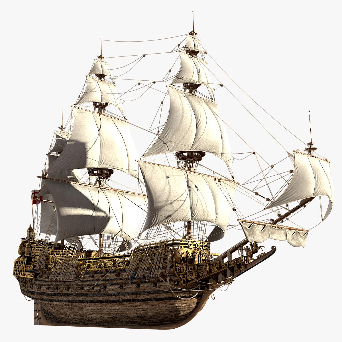 3d model sovereign seas