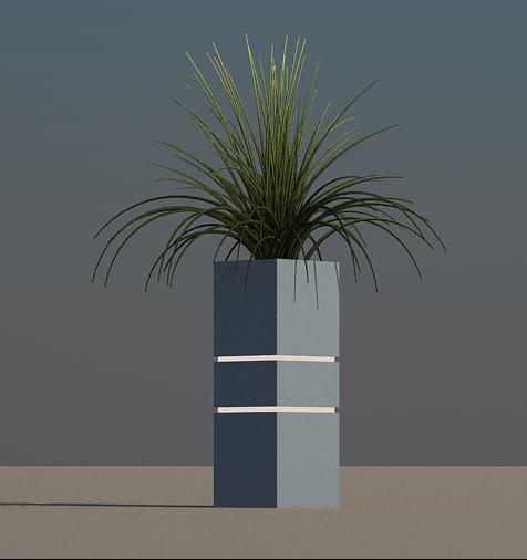 3d plant landscape