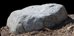 3d rock photorealistic
