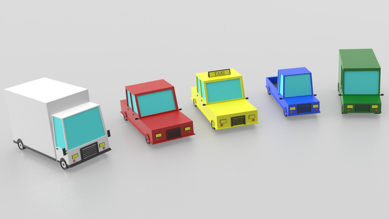 cars fbx