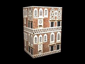 3d house yemen