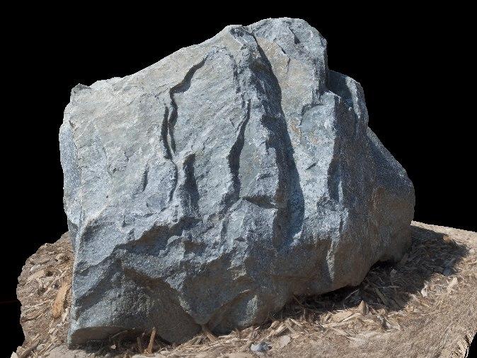 3d model rock photorealistic