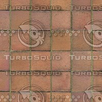 Terracotta Floor Tiles Texture T025