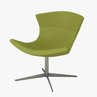 halle jet chair 3d model