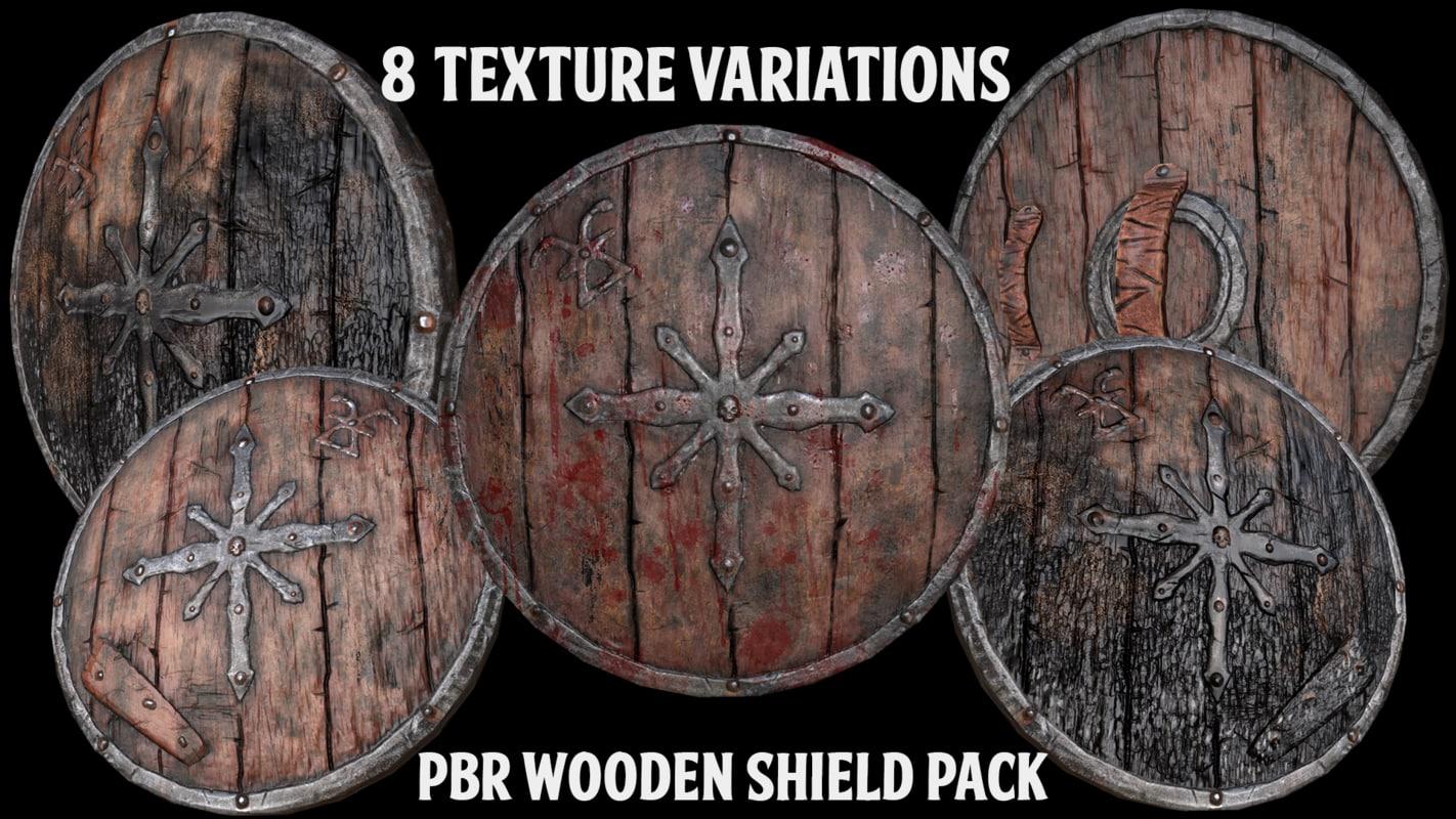 pack shield 3d model