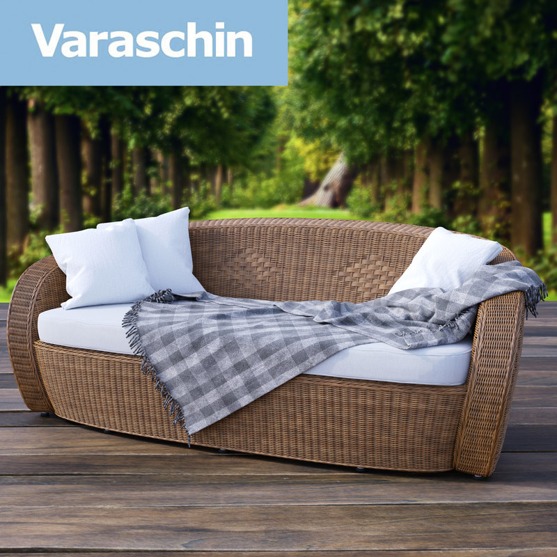 3d varaschin bolero garden sofa model