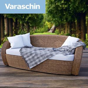 3d varaschin bolero garden sofa model