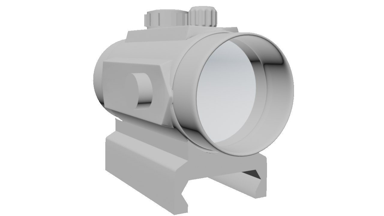 3d holographic sight