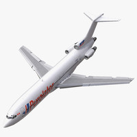 3d model of boeing 727 200 kelowna