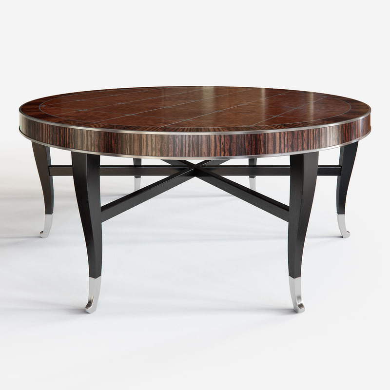 cocktail table roundabout caracole 3d max