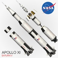 3d apollo xi model