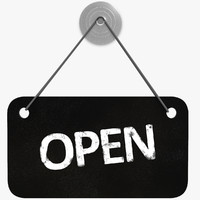 Shop Sign Open/Closed