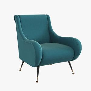 3ds eichholtz chair giardino 110294