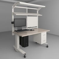 Height Adjustable Workbench 3
