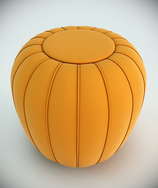 3d munna mellow stool model