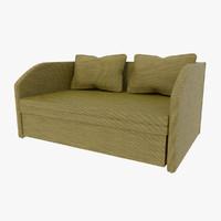 sofa mesh 3d model