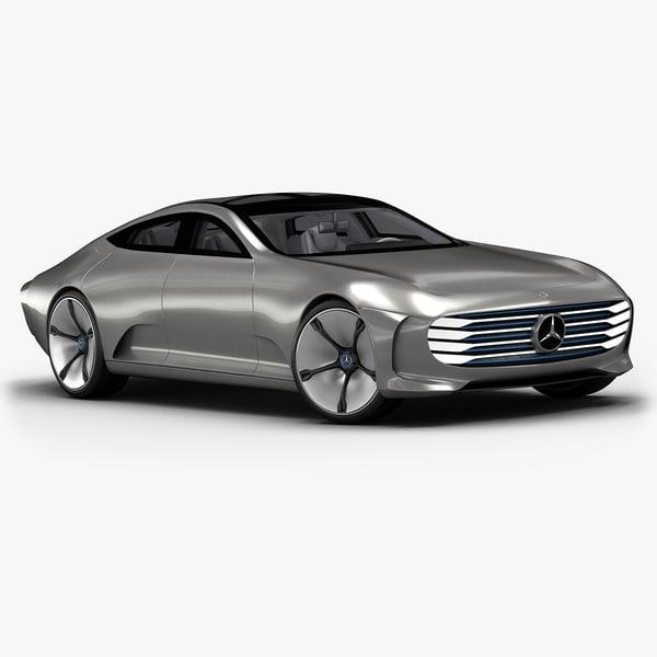 3d c4d 2015 mercedes-benz iaa concept