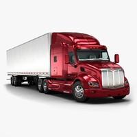large truck 3d models